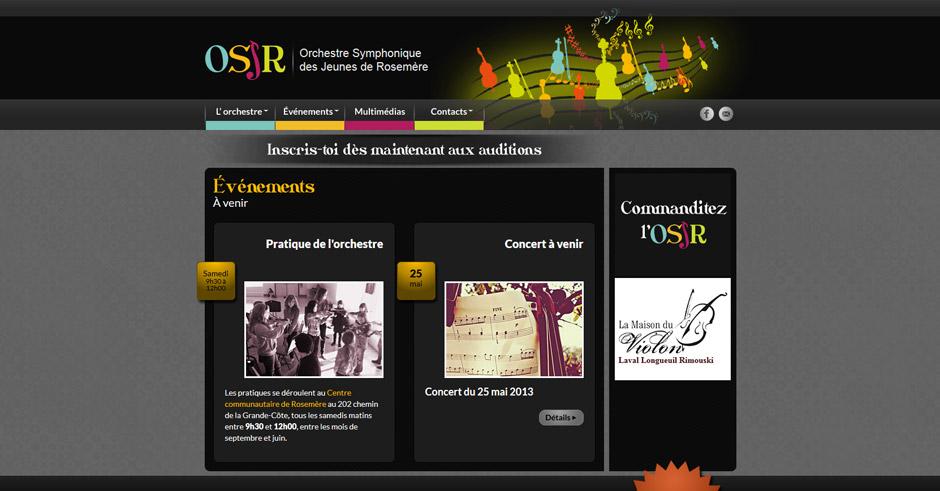 Orchestre symphonique des jeunes de Rosemère